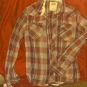 Vans long sleeve button-down shirt